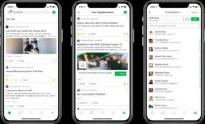 Nextdoor social media